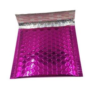 40Pcs Bubble Почтовая доставка Сумки Конверты Пакет Дни рождения Яркие Поверхностные Подарки Сумка 15X13Cm + 4см