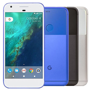 Восстановленный оригинальный Google Pixel XL 5.5 inch Quad Core 4GB RAM 32 / 128GB ROM Single SIM 4G LTE Android Smart Cell Phone DHL 10шт