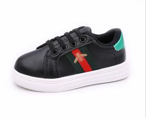 Meninas outono sapatos 2019 novos casuais respirável calçados infantis meninos sapatos brancos meninos lona selvagem maré