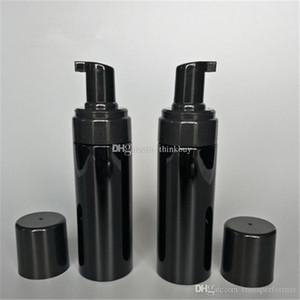 Viaje 150g de plástico recargable Bomba espumador Botella Body Wash jabón negro espuma PET bombas de bricolaje líquido Jabonera 2019012207