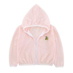 4styles Traje bronceador reflectante traje de rejilla transpirable traje de piel al aire libre para las niñas bebés niños blusa ropa de protección al aire libre