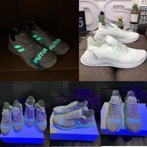 2019 Fluoreszenz alphaedge 4d Markenturnschuhe Konsortium Läufer inv x Daniel Arsham futurecraft 4d Globale Grenze Laufschuhe drucken 40-45