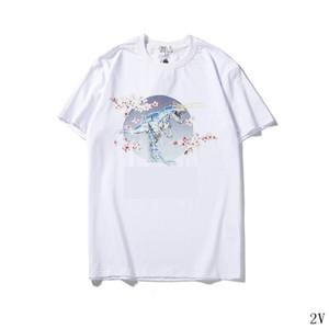 mulheres designer de camisetas de manga curta em torno do pescoço impressa luxo imagem verão camisas marca de moda mulheres casuais designer de T shirt2V