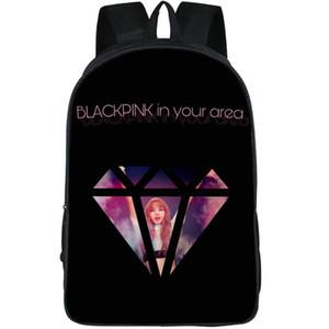 Bereich Rucksack black in Ihrem Diamant daypack Schwarz rosa Gruppe Schulranzen Pop Druck Rucksack Sport Schulranzen Außentagesrucksack