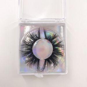 5D Mink Lashes Vendor 15mm 18mm 20mm 22mm 5D Cruauty Lashs Lashes Real Mink Cils pour maquillage