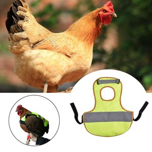 Pet Reflective Vest Chicken Clothes Poultry Hen Saddle Apron Feather Protection Holder For Farm Chicken And Duck Vest