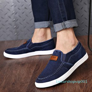 Fashion Men Casual Shoes Denim Men Shoes Outdoor Canvas Men's Loafers Male Adult Espadrilles Comfort Sneakers bnvgty555