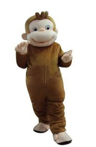 2019 New Style Curious George Monkey Mascot Costumes