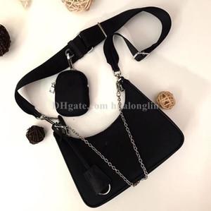 cadenas bolsa de las mujeres del hombro cruzada cuerpo de alta calidad de la llegada del pecho paquete de la señora totalizador del bolso bolso mensajero hobo bolsos bolsa de nylon