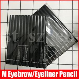 M-Augen-Make-up Automatische Rotating AugenbraueEyeliner Bleistift-wasserdichte wasserdichte Schönheit bilden Bleistift Braun Schwarz 2 Farben