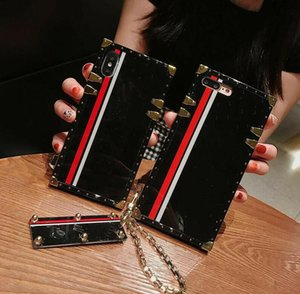 Luxury premium phone cases for Iphone X Xr Xs Max 11 pro 7 8 plus Samsung S20 Ultra S10 S9 S8 J3 J5 J7 2017 J4 J6 2018 fashion with Keychain