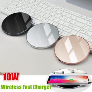 Veloce Wireless Charger 10W Qi reale rapida ricarica del telefono iPhone rilievo per Samsung Galaxy S9 S8 Inoltre XR XS For All Qi-enabled
