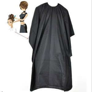 Hairdressing Collar Cutting Hair Waterproof Cloth Salon Barber Gown Cape Hairdresser Buttoned collar waterproof Hair Cloth WY647Q