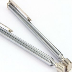 Magnete a penna Magnete Aspiratore telescopico Magnetico Picker Fino a 49cm Può prendere il dado di ferro Bullone a dado ... Piccole parti metalliche 5pcs / lot