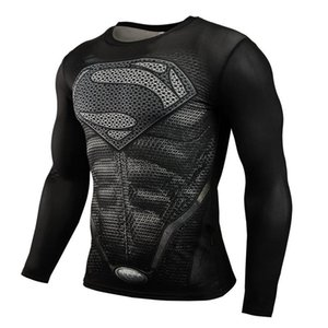 Men's Designer T-Shirt Printing Long-Sleeved Clothing Sports Fitness Sweat-Wicking And Quick-Drying Clothes Luxury Round Neck Casual st