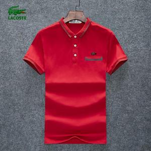 19SS cru luxurys l'Europe Paris Broderie patchwork Contraste GIV T-shirt Mode Hommes Concepteurs T-shirt décontracté Vêtements Hommes Coton T 38