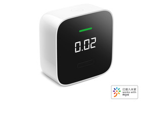 Xiaomi youpin Honeywell Smart Formaldehyde Monitor Hcho Oled Bluetooth Ppb Electrochemical Sensor Detector Work With Mi Home App 3020372A5