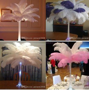 300 pcs Per lot 15~20cm White Ostrich Feather Plume Craft Supplies Wedding Party Table Centerpieces Decoration Free Shipping