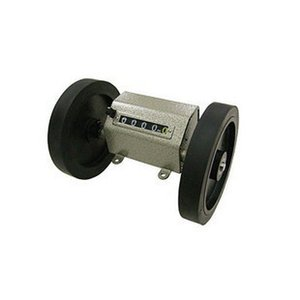 o contador do medidor, do tipo de rolos metros, testador comprimento mecânica, duplo testador pano roda, medidor de código