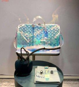 Mode-Liebhaber Designer totes Mädchen Schultertasche geneigtes Kreuz tragbaren Zweck 3D druckt Tasche Lieferanten Anpassung Größe 50 * 29 * 23cm