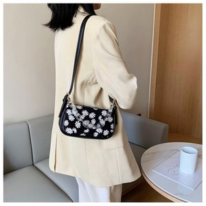 Daisy Female Bag Shoulder Baguette MINI Print Rkhqc Bags Travel PU Bags Chain Hand For Design Leather 2020 Women Ufuvs