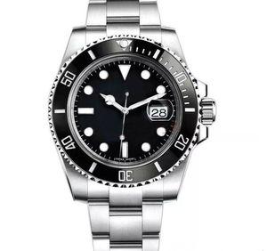 Neue Keramik-Lünette 2813 Mechanische Automatik-Uhrwerk Herrenuhr Edelstahl Mode-Mann-Uhr Sport Selbst Wind Uhren Armbanduhren Herren btime