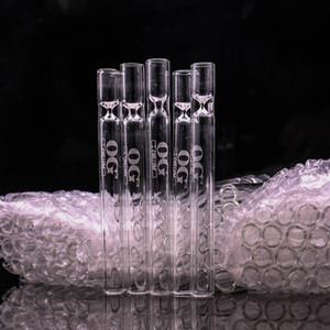 박쥐 담배 물 담뱃대 무모한 튜브 포켓 무료 배송 흡연에 대한 저렴한 OG 유리 파이프 박쥐 강압 손 파이프 도매 파이프