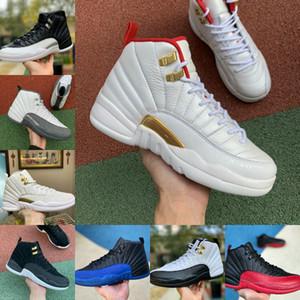 Satış Yeni Jumpman 12s Vinterize WNTR Gym Kırmızı Michigan Erkek Basketbol Ayakkabı Usta Gribi Oyunu Taksi 12 ovo Beyaz Retroes Erkekler Spor Sneaker