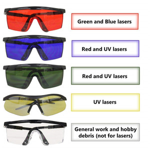 Tamax EG003 IPL 200nm-2000nm Laser Protection Goggles Protective Safety Glasses OD+4 eye patch for PDT machine