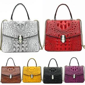 High Quality Brand 2020 New Women Luxury Crocodile Shoulder Bag Pillow Bag Speedy 30 Crocodile Shoulder Bag M55422 Speedy 25 Teddy Design#952