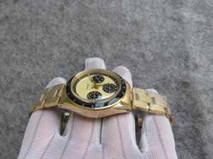 37mm Vintage 6239 6240 6263 Paul Newman Migliore qualità ST19 carica manuale paulnewmen orologio da uomo orologio da polso Cronografo automatico 7750