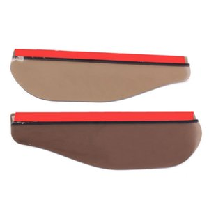 xterior Parts & Covers 2Pcs Flexible Rainproof Sunshade Car Rearview Mirror Windshield Weather Cover Sunshade Rearview Mirror Auto P...
