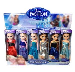 17см LoL Кукла с кормлением бутылки американского ПВХ Kawaii Дети игрушки Аниме часы Реалистичные Reborn куклы для девочек