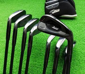 club de golf negro barra de hierro de hierro de carbono ap3-718 grupo de cabeza pequeña grupo de cabeza de hierro edición limitada