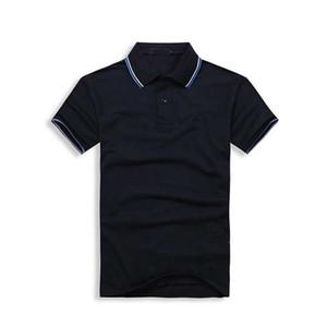 Hommes Shorts Manches Polo Shirts Broderie Populaire Polos De Blé Sur Mesure Designer Robe Chemise En Unicolore T Shirt