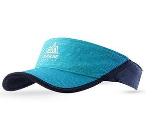 2020 AONIJIE Outdoor Hat Men Women Lightweight Sunhat Marathon Visors Running Cap Climbing Camping Hikingfe18#