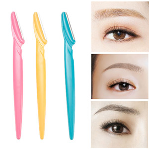 Eyebrow Knife Eyebrow Razor Facial Remover Shaver Makeup EyeBrow Epilator Sourcil Facial Hair Removal Blades Brow Trimmer RRA2494