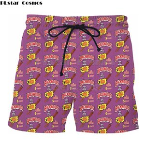 Plstar Cosmos Drop Shipping лето новый стиль мужские женские шорты Backwoods Honey Berry Print 3d повседневная прохладный шорты Skk50 Y19050501
