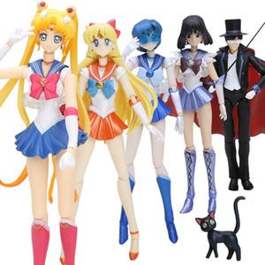15cm japonais Anime Sailor Moon Figurine Tuxedo Mask Chiba Mamoru 20 Figurine PVC Collection chiffres jouets pour les enfants T200118