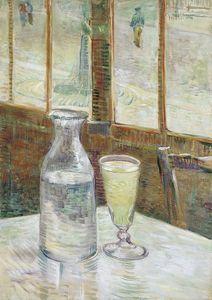 Vincent Van Gogh Cafetafel traf absint Wand-Deko Wohnkultur Handbemalte HD-Druck-Ölgemälde auf Leinwand-Wand-Kunst Leinwandbilder 190917
