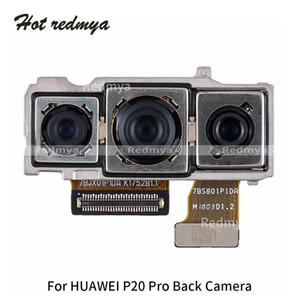 Traseiro câmera Flex Cable Para Huawei P20 Lite p20 Pro Voltar Enfrentando módulo de câmera Peças de reposição