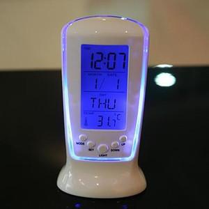 Orologi congelata Led Digital Clock Despertador Desk Clock Comodino Allarmi elettronici vigilanza del regalo piazza per i bambini