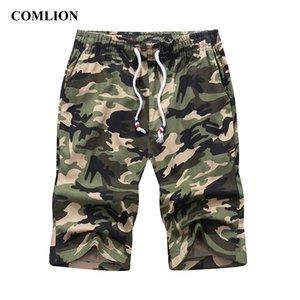 COMLION Casual Shorts Homme Hommes Coton cool camouflage Été chaud Vente Armée Marque Vêtements confortables Camo hommes Shorts C121