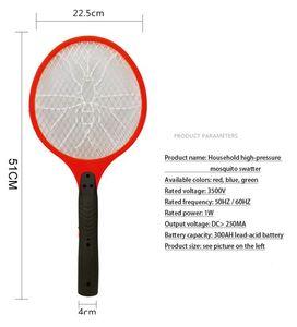 Zanzariere Swatter dell'insetto Mosca elettrica Zapper della mosca dell'insetto Racket ricaricabile Elettrodomestici Sundries Pest Control DHA132 elettrico