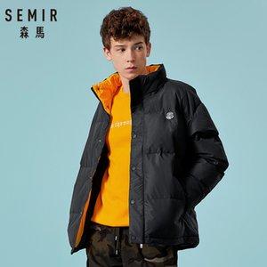 Semir Thicken Men casaco para inverno 2019 Moda Jakcet Inverno New jaquetas Homens Moda Quente Casual Parka Médio