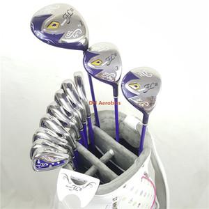 Clubes de golf para mujer Club de golf Maruman FL III conductor + madera fairway + hierros + putter Eje de golf de grafito Envío gratis