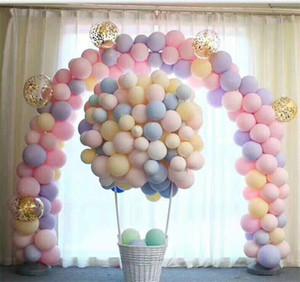 Yuvarlak düğün dekorasyon lateks balon Alüminyum Folyo Numarası Balonlar Doğum Düğün Nişan parti dekor Globo Çocuk Topu Malzemeleri