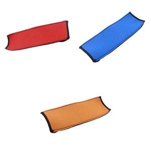 Pack de 3 remplacement Bandeau Cover Comfort Coussin Pad protecteur pour casque, bleu + rouge + orange