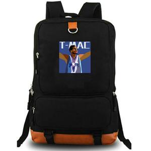 Tracy McGrady Daypack Basketball-Spieler daypack T Mac Schulranzen Druck Rucksack Laptop-Rucksack Sport Schultasche im Freien Rucksack