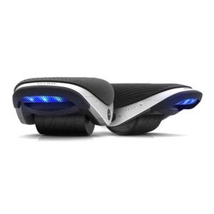 1 زوج Ninebot الدراجة التوازن الذاتي الانجراف W1 Hovershoes كهرباء أسطوانة مزالج قوية ومتينة مع الذيل الاضواء - أسود